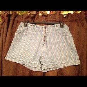 Route 66 Blue Jean Shorts